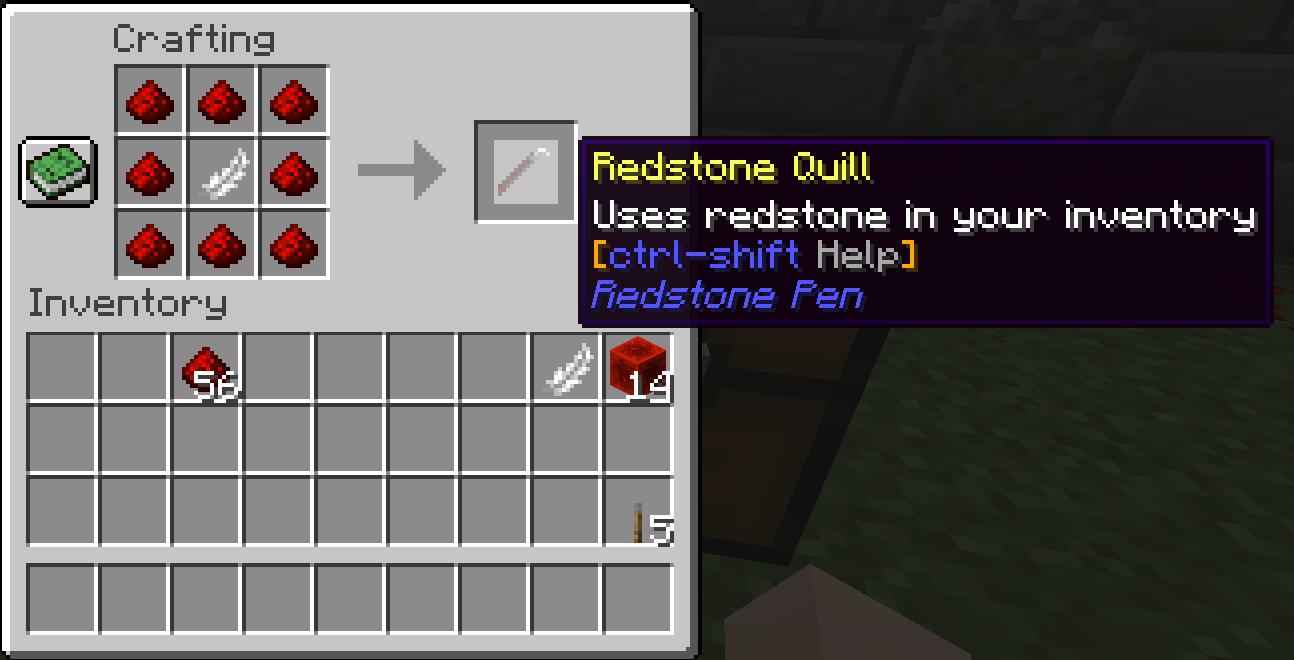 Quill recipe