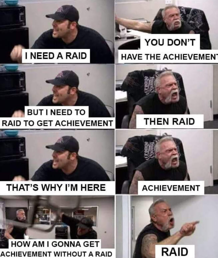 Everytime i try to raid in wow without a guild