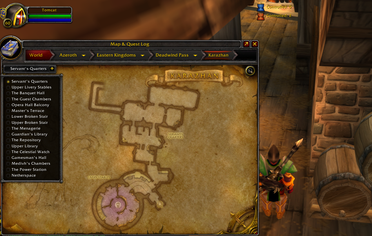 Retail Maps in TBC