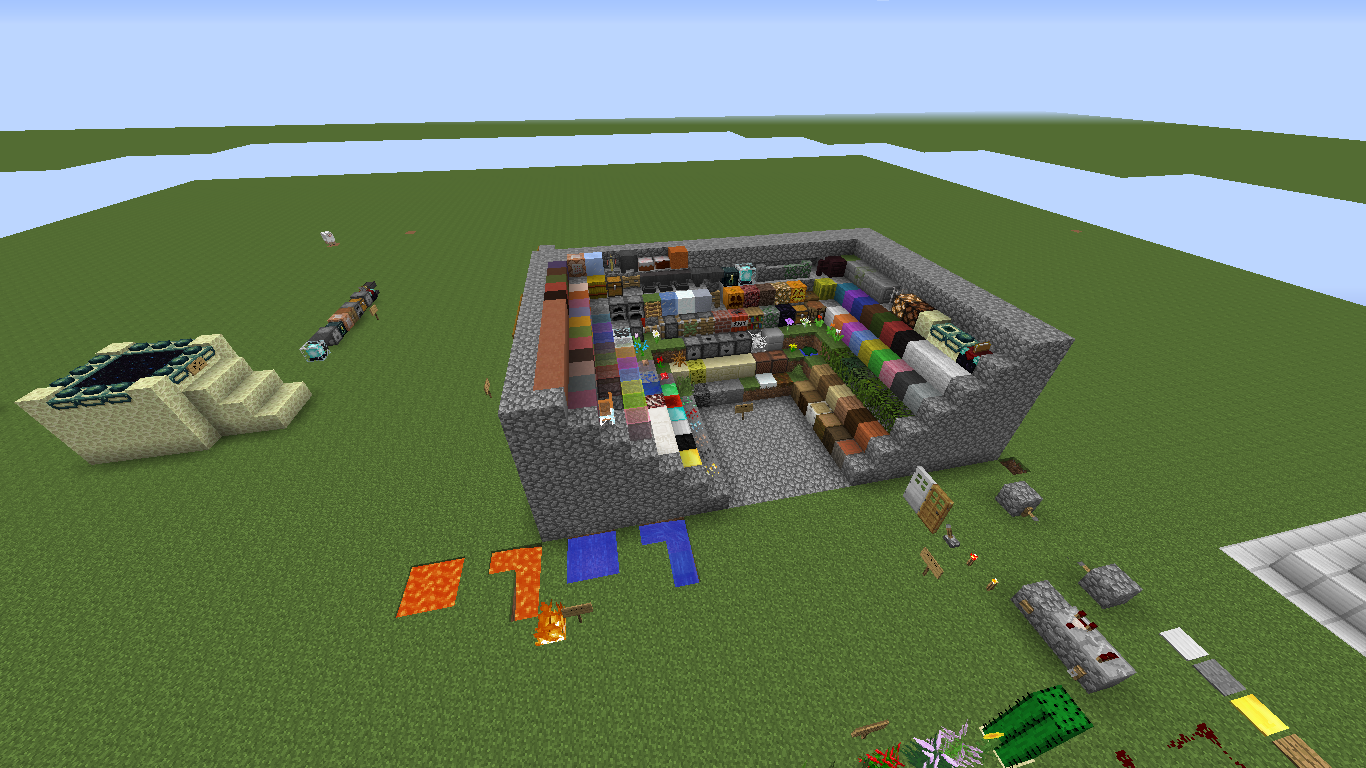 Скачать карты для пряток в Minecraft 1.11.0