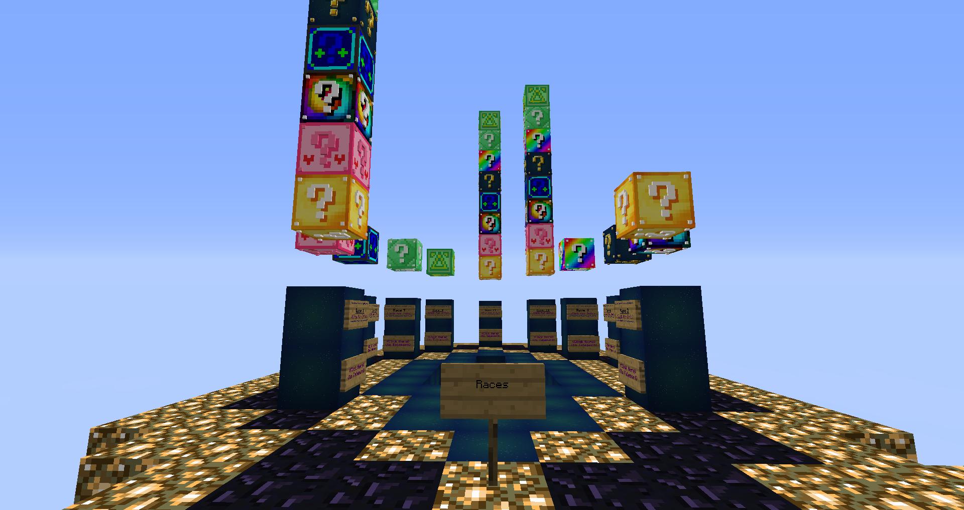 Супер карты на майнкрафт лаки блок
