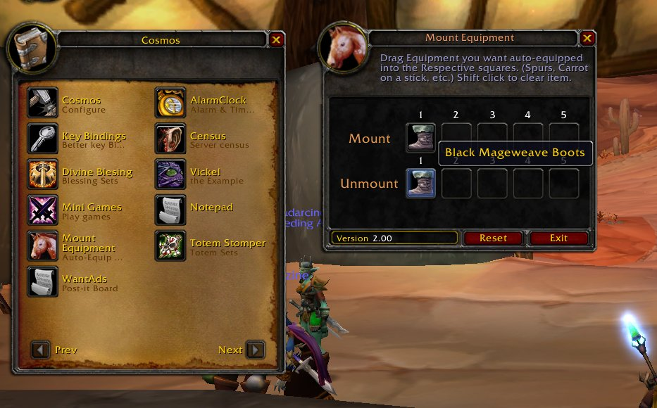 Images - QuickMountEquip - Addons - Projects - WoW CurseForge