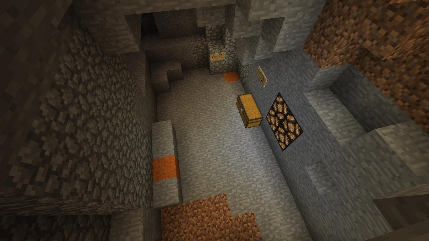 карты для майнкрафт прохождение в пещере #4