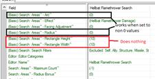 Relevant data fields