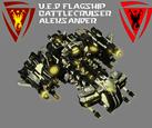 SC1 - UED Battlecruiser Aleksander (V2)
