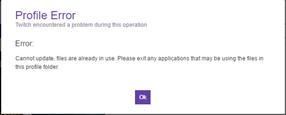 twitch error