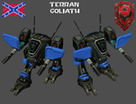 StarCraft 1 - Terran Goliath (2)