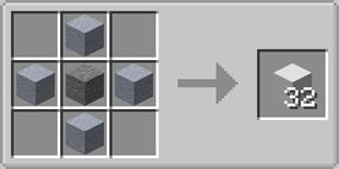 Base Crafting Block - Recipe One