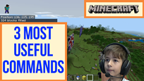 Minecraft Creative, Fill Command and Extra Fun Stuff thumbnail