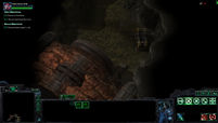 can only see the units I got on the minimap