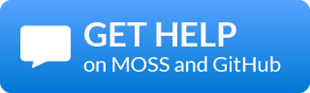Get help with EssentialsX on MOSS and GitHub