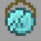 The ice amulet.