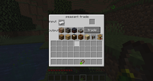 The peasants trade GUI