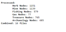 Parse Results
