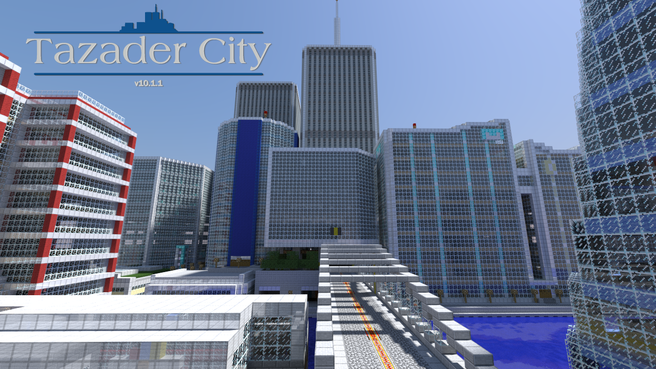 Overview Tazader City Worlds Projects Minecraft CurseForge - Maps fur minecraft