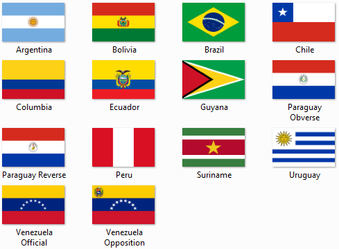 overview flags of south america shareables projects kerbal