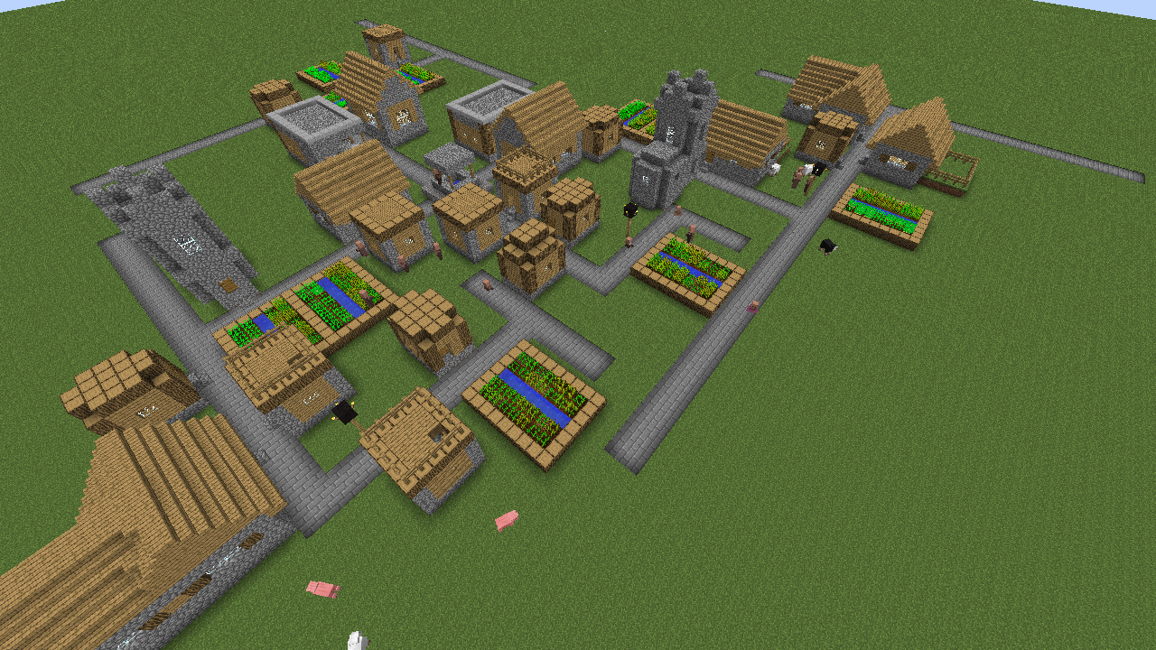 Files Roadblocks Mods Projects Minecraft CurseForge - Minecraft house download 1 7 10