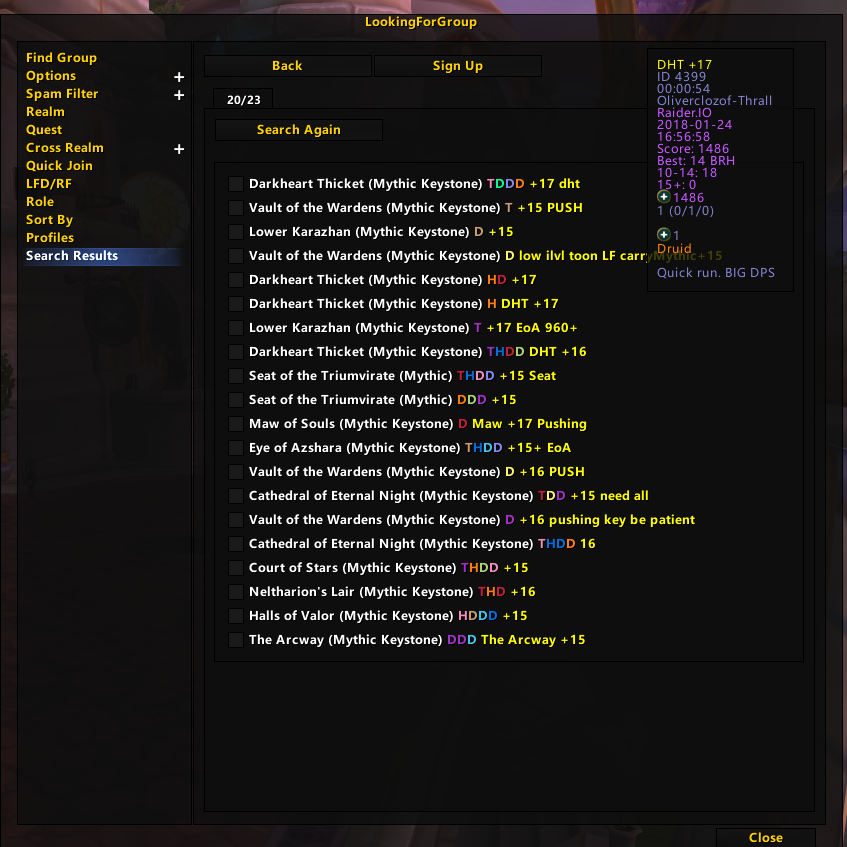 Issues - LookingForGroup Raider.IO - Addons - Projects ...