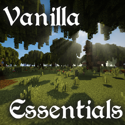 Overview - Vanilla Forge Essentials - Modpacks - Projects