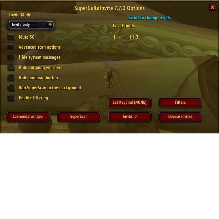 Overview SuperGuildInvite Reborn Addons Projects WoW CurseForge