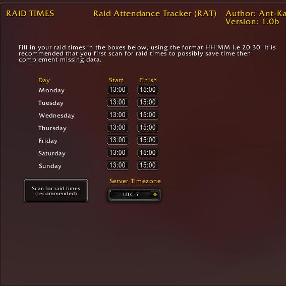 v1 0 2b files raid attendance tracker rat addons