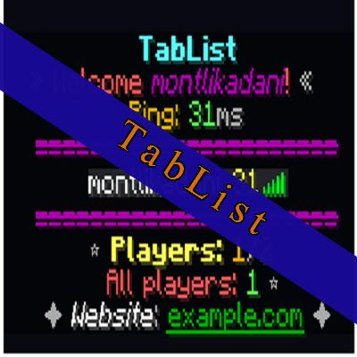 Overview - Animated-TabList - Bukkit Plugins - Projects - Bukkit