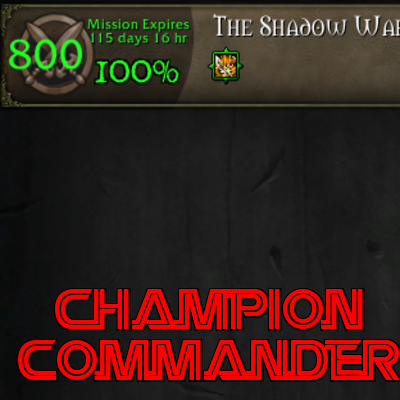 Overview - ChampionCommander - Addons - Projects - WoW