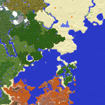 Overview - Xaero\'s World Map - Mods - Projects - Minecraft CurseForge