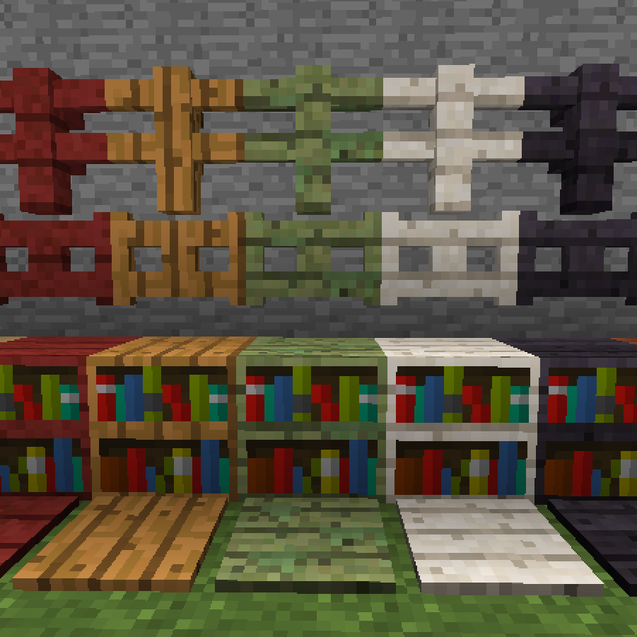 Project Gallery Wood Mode 1: Minecraft CurseForge