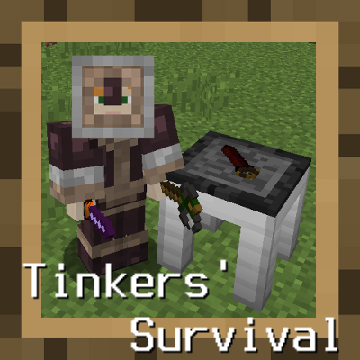 Overview - Tinkers' Survival Official - Modpacks - Projects