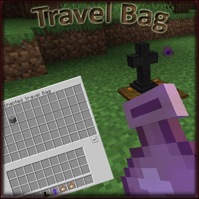 Travel Bag (minecraft mod)