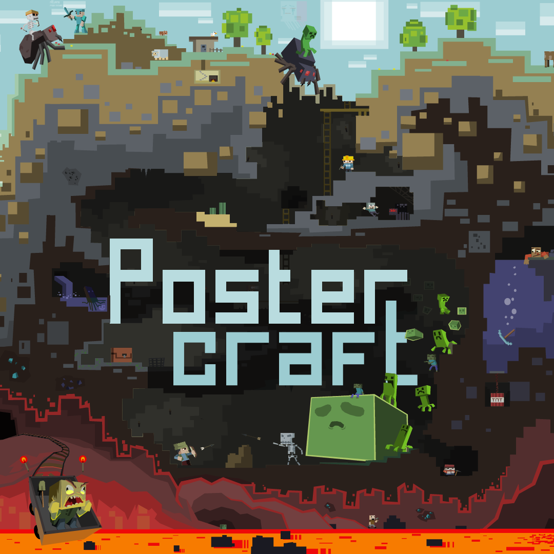 overview postercraft texture packs projects minecraft curseforge