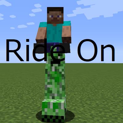 Мод на езду на любом мобе RideOn 1.16.4
