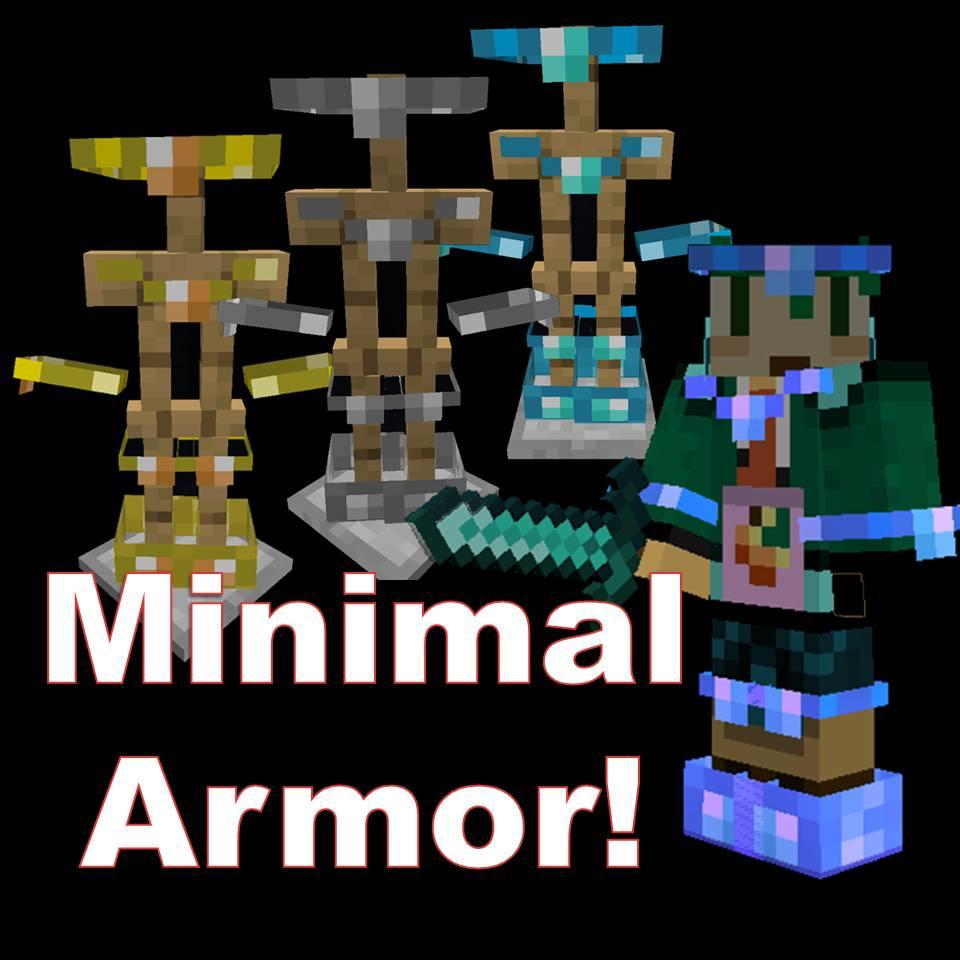 Minimal Armor Resource Packs Minecraft Curseforge