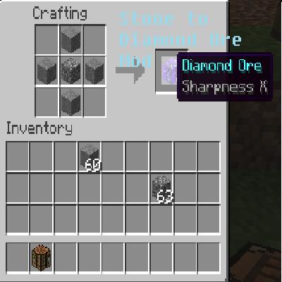 minecraft how to get diamond ore