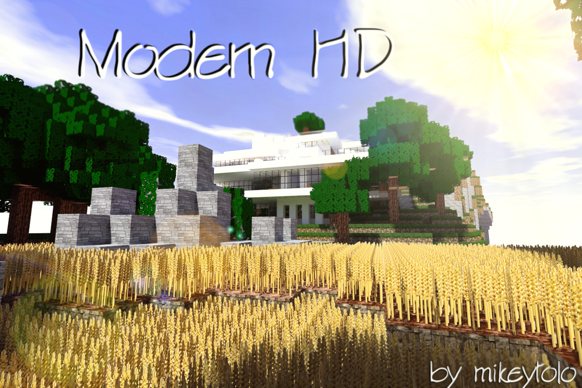 overview 64x modern hd pack texture packs projects