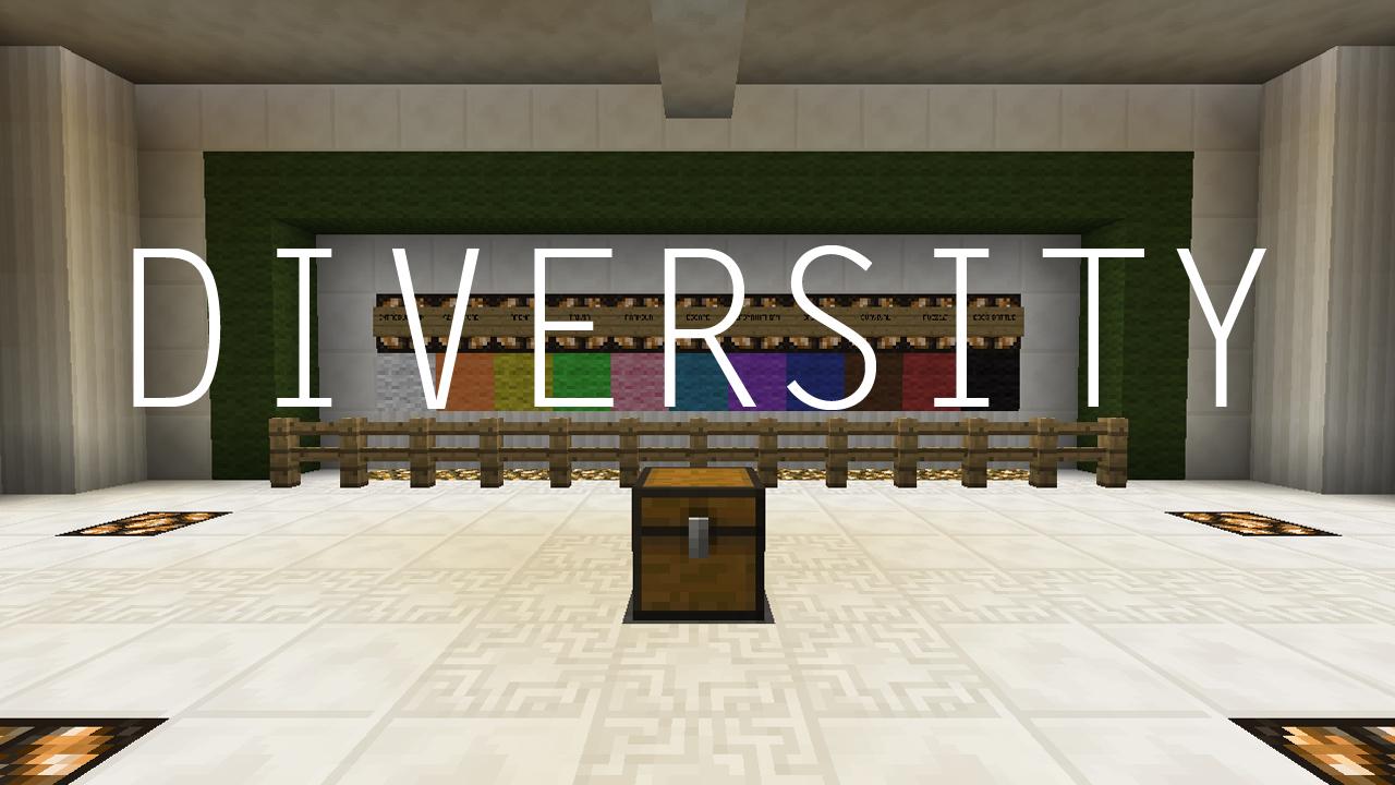 Diversity | карта майнкрафт.
