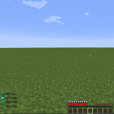 how to get armorhud on minecraft