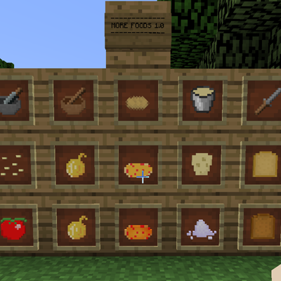 More Food 1 15b 1 9 Files More Foods Mods Projects