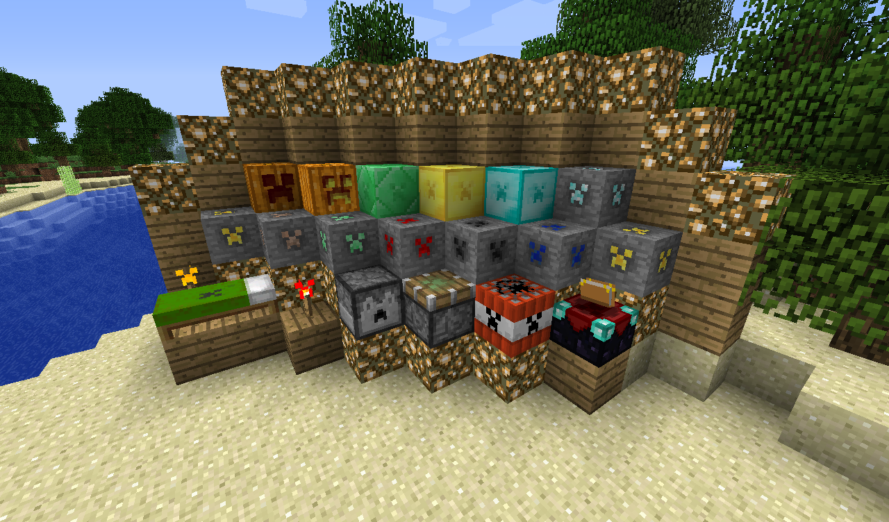 Files - The Creeper Pack 1 4 6-1 4 7 - Texture Packs