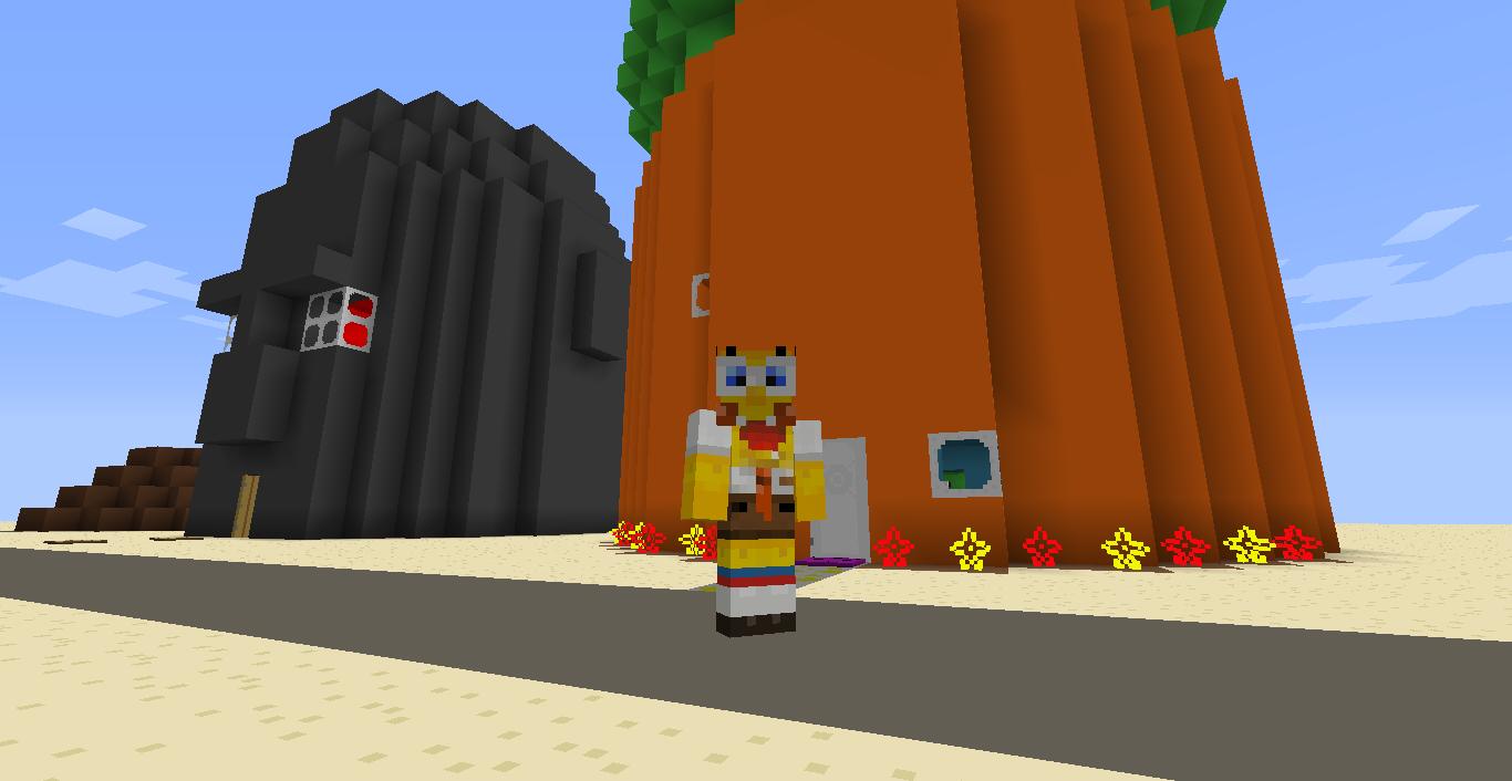 Minecraft Spongebob Skin
