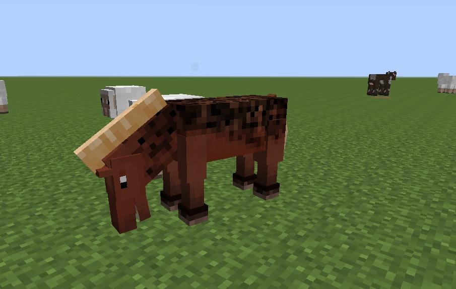 мод на майнкрафт 0.13 лошади #3