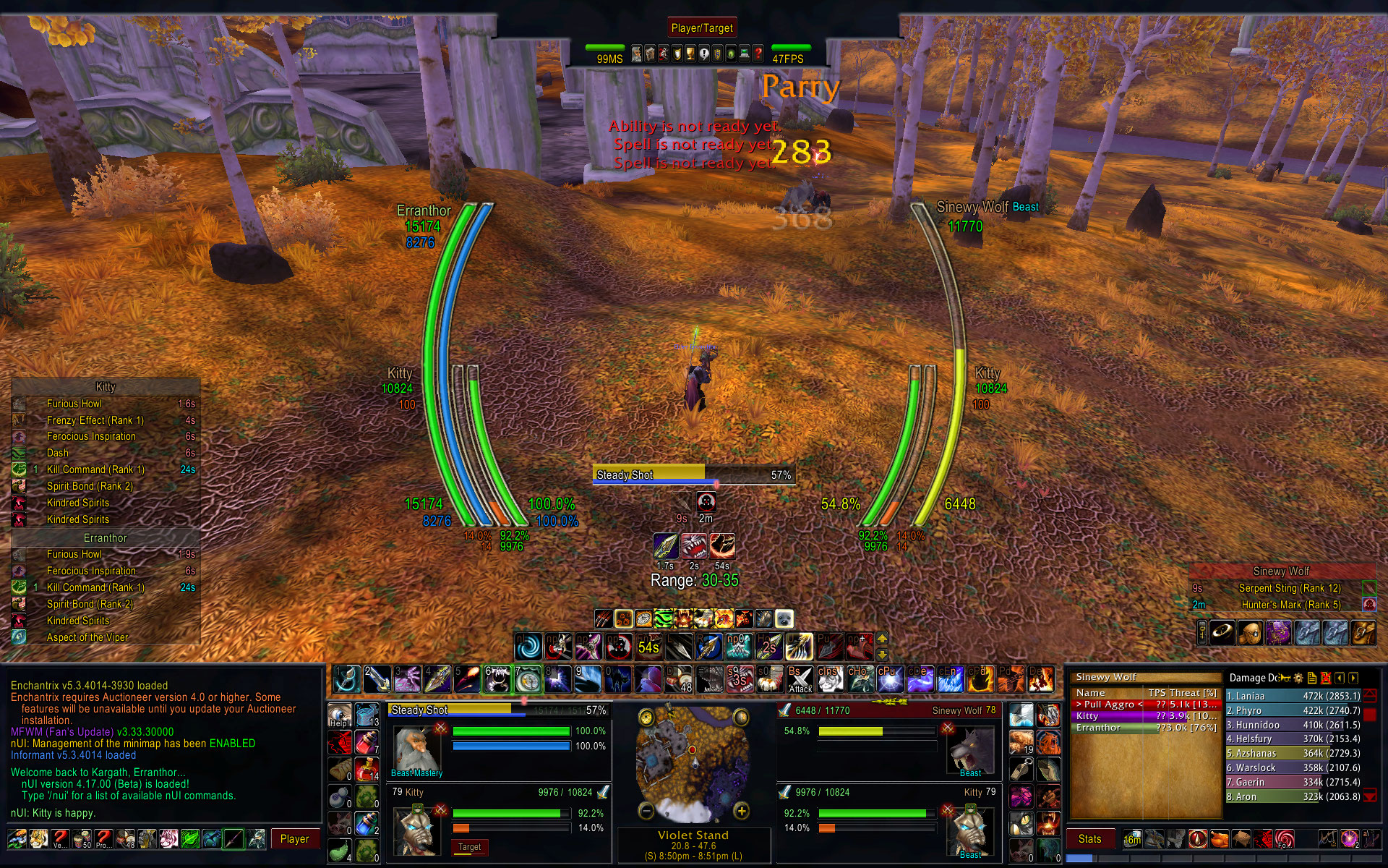 Issues - nUI - Addons - Projects - WoW CurseForge