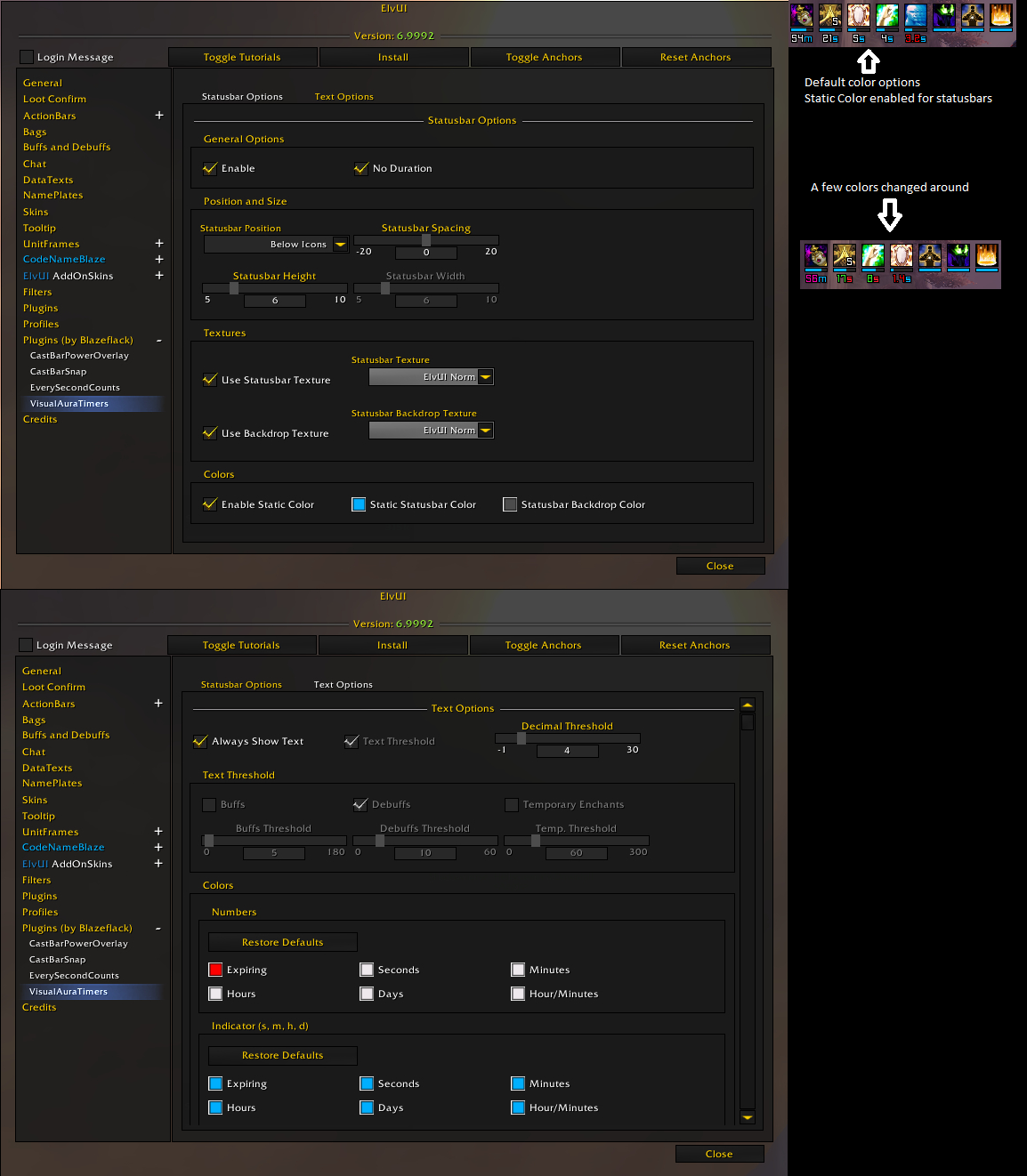 Source - ElvUI VisualAuraTimers - Addons - Projects - WoW CurseForge