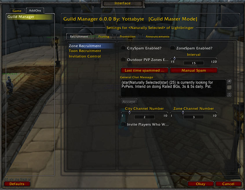 Overview Guild Manager Addons Projects Wow Curseforge
