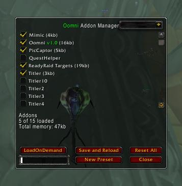 wow addon manager