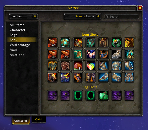 Overview - Vortex - Addons - Projects - WoW CurseForge