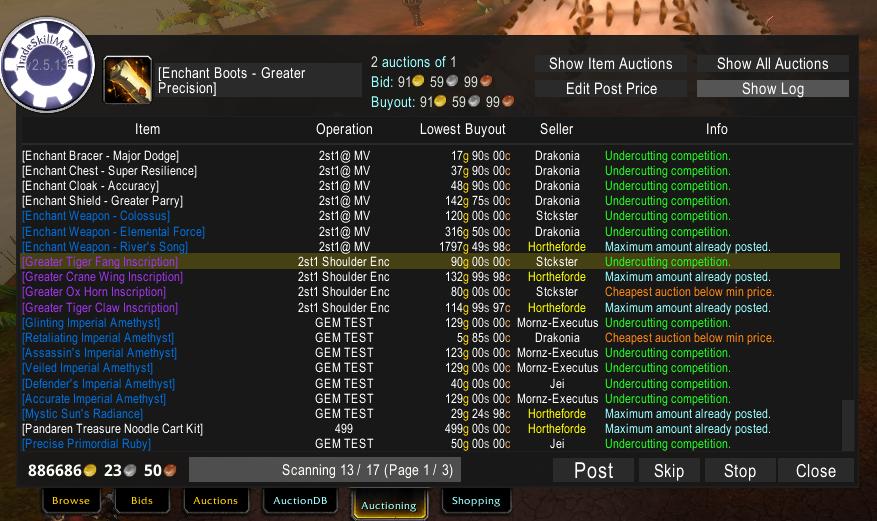 v3 0 17 - Files - TradeSkillMaster_Auctioning - Addons