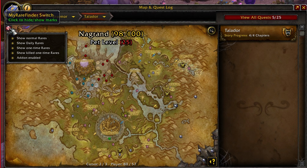 Overview - RareFinder - Addons - Projects - WoW CurseForge