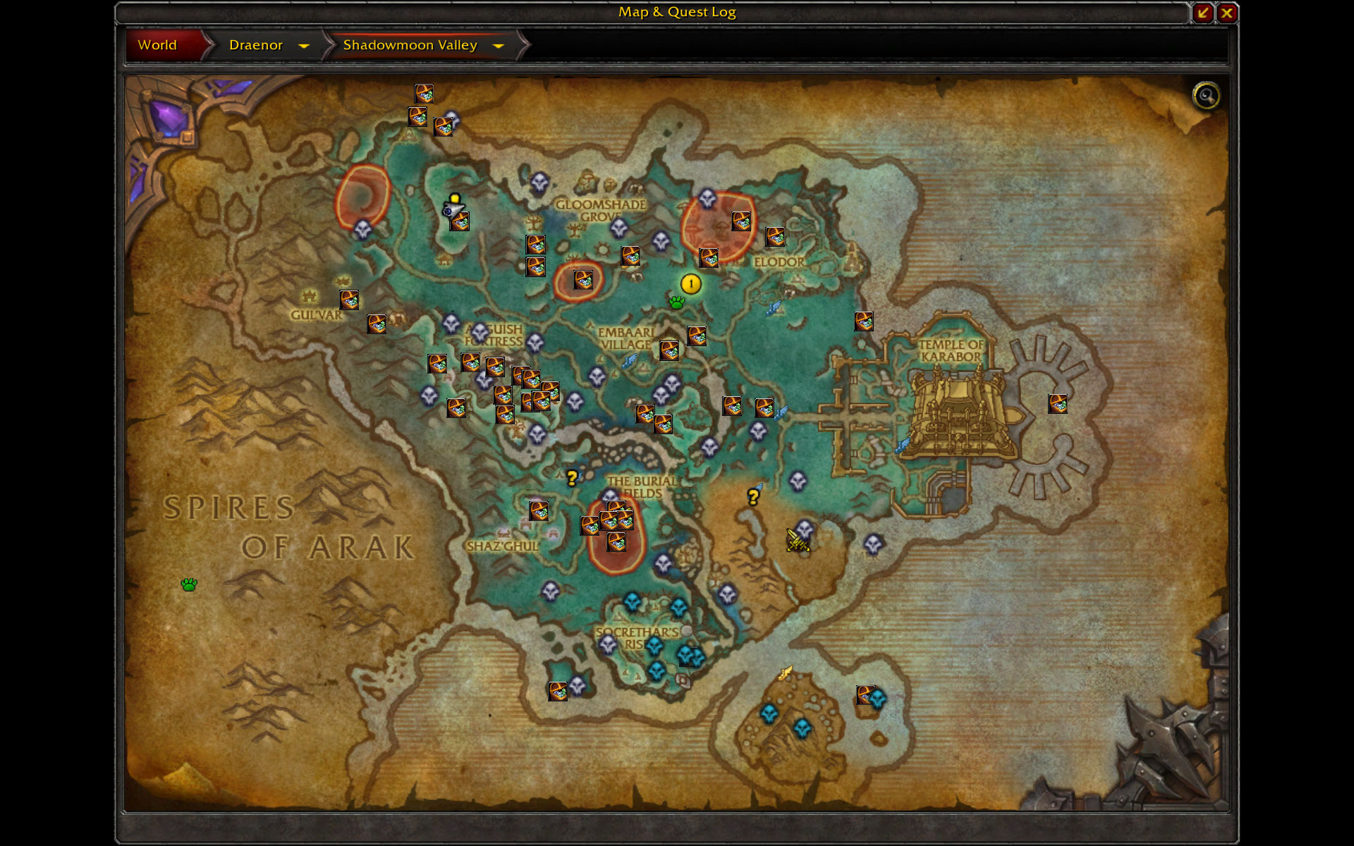 Overview - HandyNotes_DraenorTreasures - Addons - Projects - WoW ...